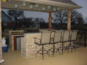 Building The Outdoor Kitchen