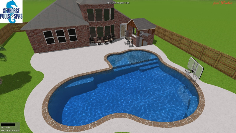 How big should the pool be?