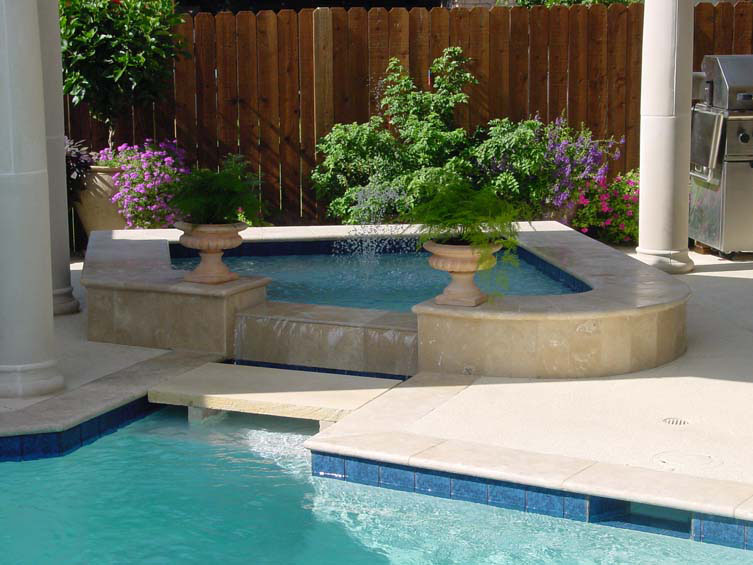 custom built hot tubs seahorse pools spas. Black Bedroom Furniture Sets. Home Design Ideas