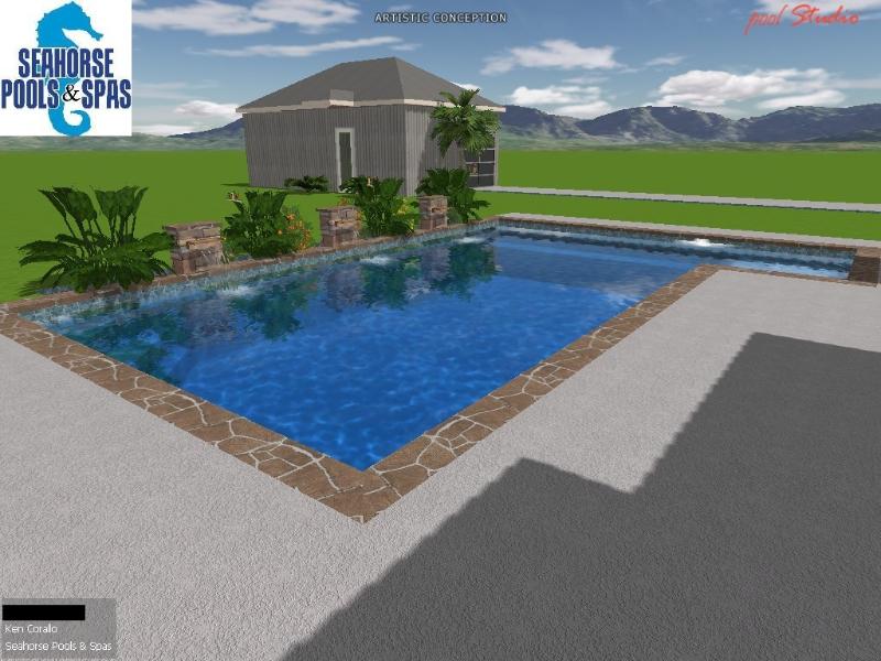 Computerized Designs Swimming Pool Designs