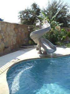Pool Slides Seahorse Pools Amp Spas
