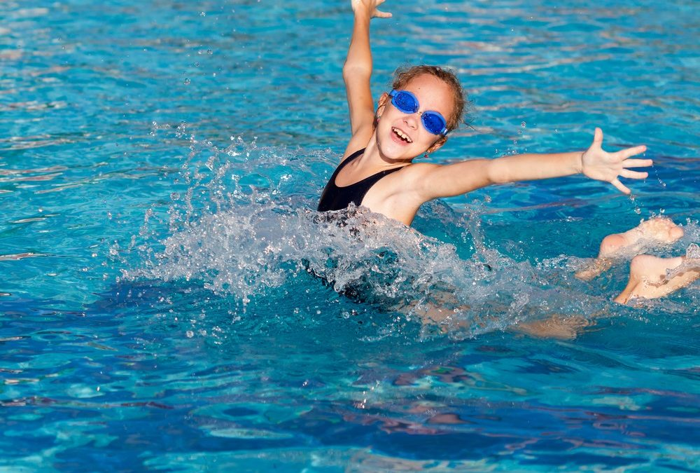 Lower your blood pressure when you swim