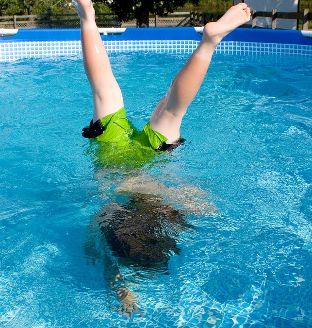 Fun swimming pool tricks